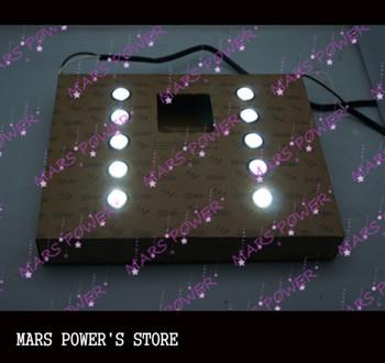 10 LED Car Meteor shower DRL runing light Car DIY Led 12V  AUTO Fog lights Lamp