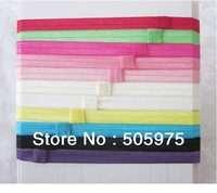 Free shipping 11 Color  Baby Headband,Stretchy Elastic 1.5cm Width,Hair Accessories