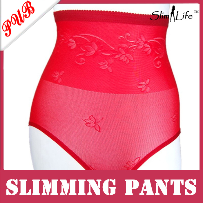 High waist slimming underpant/seamless shaping panty/women underwear tight abdomen(China (Mainland))