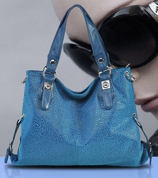2013 new Women's designer handbags spring brief woman shoulder bag messenger leather fashion brand discount large bags(China (Mainland))