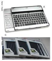 ultra-thin Universal Aluminum 3.0 Bluetooth Wireless Keyboard For ipad 2/3/4,20pcs/lot,DHL Free Shipping, D0206