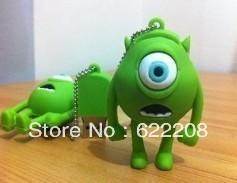 Free shipping genuine capacity  Cyclops Cartoon USB flash Drive,USB Stick,usb flash1GB,2GB,4GB,8GB,16GB,32GB 64GB