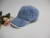 Water wash cloth denim baseball cap fashion sun-shading outdoor cap