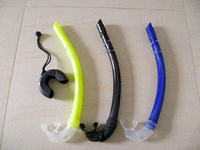 spearfishing black diving snorkel S19
