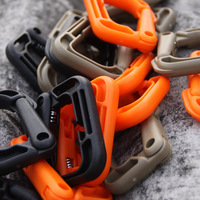 Plastic buckle for Tactical backpack MOLLE buckle/backpack accessories 4pcs/bag FREE SHIPPING