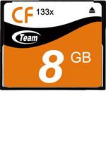 Free Shipping! Brand New Team 8GB 133X CF Memory Card for Canon/ Sony / Panasonic / Nikon / Fuji Cameras