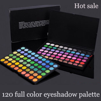 Free shipping! High Quality 120 Color Cosmetics Eyeshadow Palette Powder Eye Shadow Makeup kit Drop shipping