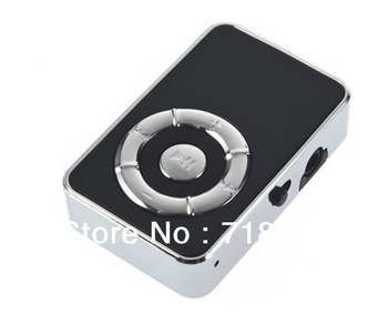 Golden Apple USB Mini clip MP3 player Support Up to 8GB Micro SD TF Card wholesale price, free shipping!