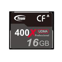 Free Shipping! Brand New Team 16GB 400X CF Memory Card for Canon/ Sony / Panasonic / Nikon / Fuji Cameras