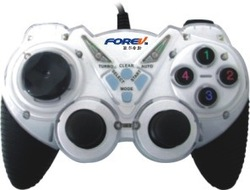 forev fv-850s game controller double motor double vibration computer usb handle double vibration support Windows 7/Windows8(China (Mainland))