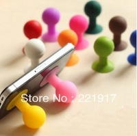 Min. Order is $10 ( Can Mix order )!   Octopus ball stents circular chuck mobile phone desktop small silicone sucker stents