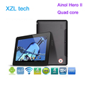 Ainol Hero II novo 10 quad core tablet pc Android 4.1 IPS Cortex A9 1.5GHz 1GB RAM 16GB WiFi HDMI from XZL
