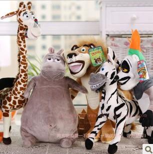 Madagascar animal Giraffes, zebras, hippos, lions, penguins(China (Mainland))