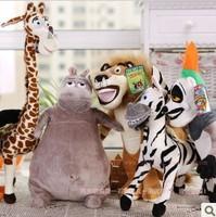Madagascar animal Giraffes, zebras, hippos, lions, penguins