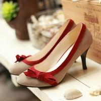 2013 women's  women's  sweet bow single  all-match  shoes