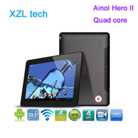 New Ainol Hero II novo 10 quad core  Android 4.1.1  IPS  1GB/16GB WiFi HDMI  tablet pc from XZL