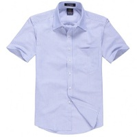 Galeoid new arrival 2013 easy care royal Oxford silk cloth business casual male short-sleeve shirt