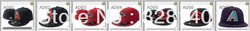 MLB Arizona Diamondbacks Closed Fitted Baseball Hat Cap Discount Mix Order Hat Cap 5pcs/Lot Snapbacks Sport Baseball Cap Hat(China (Mainland))