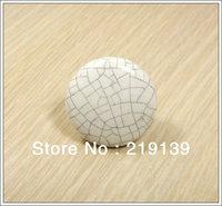 NEW Crack Ceramic Bedroom Furniture Kitchen Cabinet Door Pulls Drawer Porcelain Knobs Handles