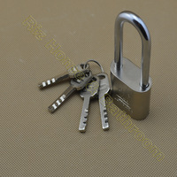 L0240 Iron durable 4 blade Keys padlock security lock