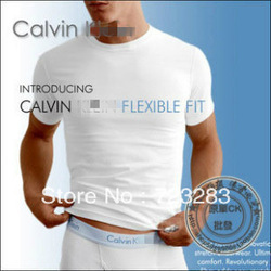 2013 new spring high-elastic lycra cotton men's short sleeve v neck tight t shirt free shipping(China (Mainland))
