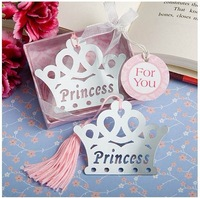 Crown Design Metal Bookmark Wedding Favor