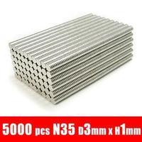 5000pcs D3*1MM 3mm x 1mm Disc RARE Earth Neodymium Strong Magnets N35 Warhammer Models D3X1MM 3*1MM MAGENTS