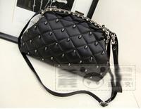2014 Free shipping Skull clutch Handbags,Europen &America Lingge restoration designers message  high quality women
