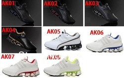 Free shipping Wholesale Sport P'5000 Design Bounce: s2 leather Running shoes bounce Shoes New with tag Men's shoes(China (Mainland))