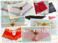 women cotton lace many color size sexy underwear/ladies panties/lingerie/bikini underwear pants/ thong/g-string DZ025-48pcs