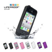 Hot sale  Case for iPhone 4 4G 4S  Proof Waterproof Shockproof Case for iPhone 5 with retail Package Free Shipping