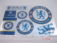 Football souvenir chelsea laser stickers waterproof car stickers