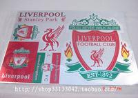 Football souvenir liverpool laser stickers waterproof car stickers