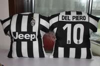 Football souvenir juventus 10 star pillow