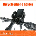 360 Degree Rotating Universal Bicycle Bike Mount Holder Stand For iPhone For Samsung Galaxy Noka HTC Many Phone Free Shipping(China (Mainland))