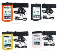 Wholesale Mobilephone Waterproof Pouch Watersports Swiming Dive Dry Bag + Waterproof Headset 81117 -81120