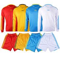promotion Long-sleeve jersey luwint soccer jersey paintless blank sports jerseys free shipping