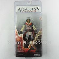 "Free shipping New 7"" NECA Original Assassin's Creed II 2 Ezio Master Assassin Figure White"