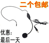 Megaphone headset microphone headset bee pin