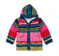 baby clothing, Short in size ! momo boy color block with a hood sheep wool liner sweater outerwear