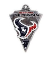 Free shipping 10pcs a lot NFL antique silver single-sided  Houston Texans charms