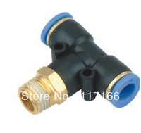 Pneumatic Quick Connect  in pneumatic parts PBT tube(hose) fittings PBT 4-01pneumatic accessory  I.D 4MM thread G1/8