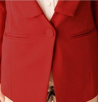 Small suit jacket female slim blazer 2013 spring women's casual blazer