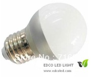 new arrival, Free shipping,LED lamp,LED Ball steep light,2W led bulb E27 220V white/warm white