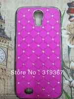 DHL free shipping bling bling diamond case bling bling diamond back cover for Samsung Galaxy S4 i9500 100pcs/lot  newest edition