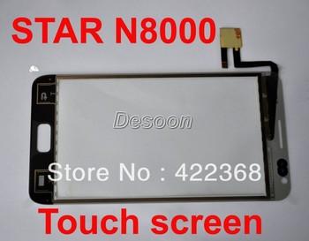 Free shipping Star N8000 original touch screen Black white