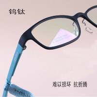 Ultra-light women's comfortable full frame myopia glasses frame tungsten titanium lens female glasses