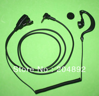 Reel Cable  Headset Earpiece PTT Mic for Yaesu Vertex Radio
