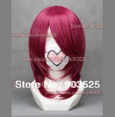 Free Shipping! Beauty cos wig Soul Eater 45CM Cosplay Wig with wig cap (gift)(China (Mainland))