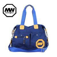 free shipping 2013 new arrival  canvas bag rivet male women's handbag shoulder bag messenger bag fashion bag for women  hot sale